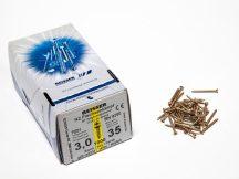 FACSAVAR REISSER 3x35mm ACÉL, SÁRGÍTOTT, TÖVIGMENETES 1000db/doboz