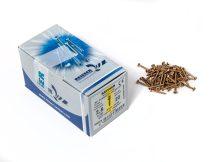 FACSAVAR REISSER 2,5x20mm ACÉL, SÁRGÍTOTT, TÖVIGMENETES 1000db/doboz